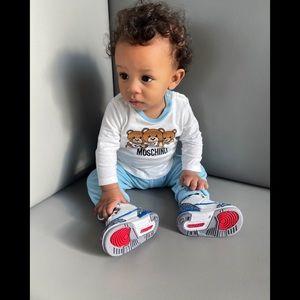 Moschino baby boy set